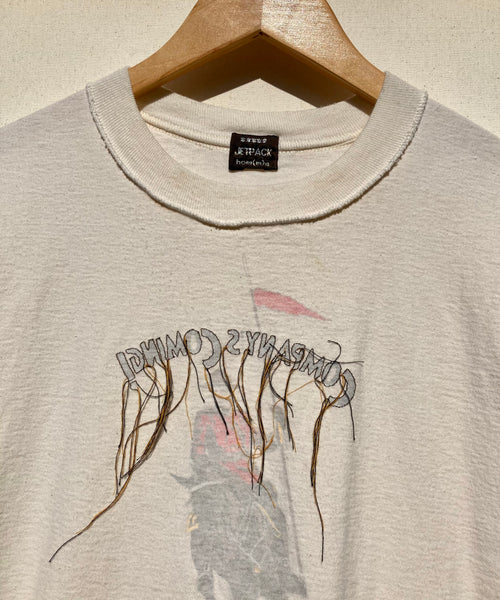 Reverse Embroidered Inside-out Tee