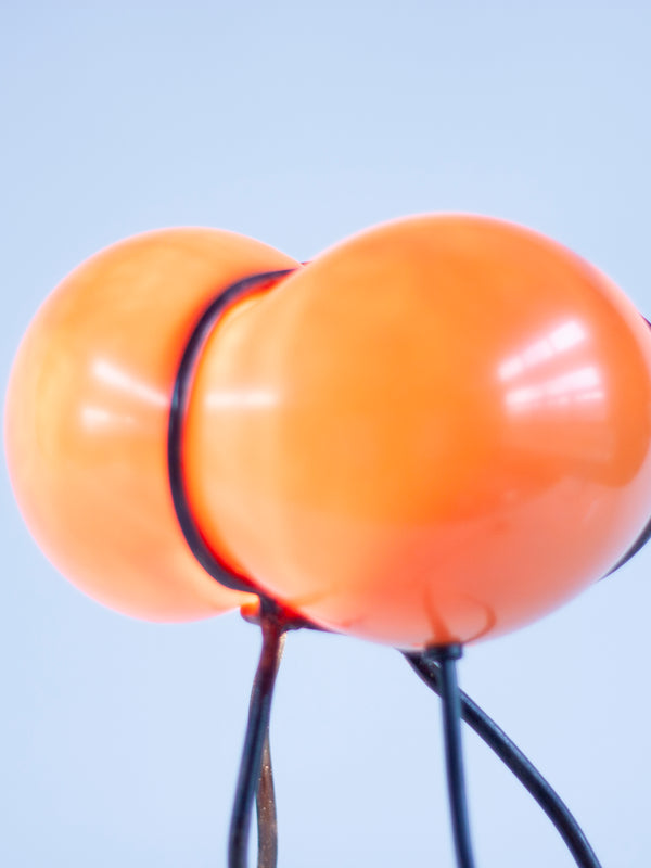 Bubble Lamp Orange