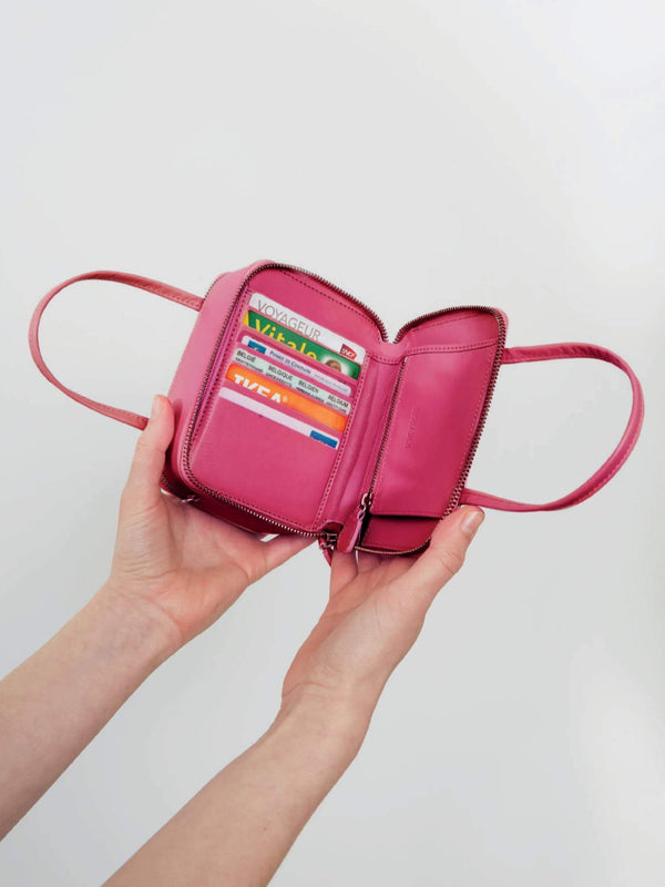 D'heygere-Wallet Bag Pink-APOC STORE