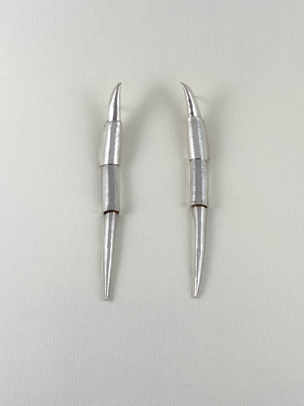 Lawrence & Schmidt-No. 115 - Sterling Silver Earrings-APOC STORE