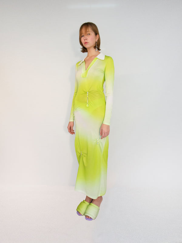 Constanca Entrudo-Mojito Polo Dress-APOC STORE