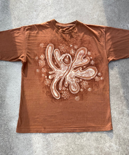 Brown Butterfly T-shirt