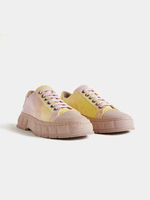 VIRON-1968 Pink/Yellow Recycled Canvas-APOC STORE