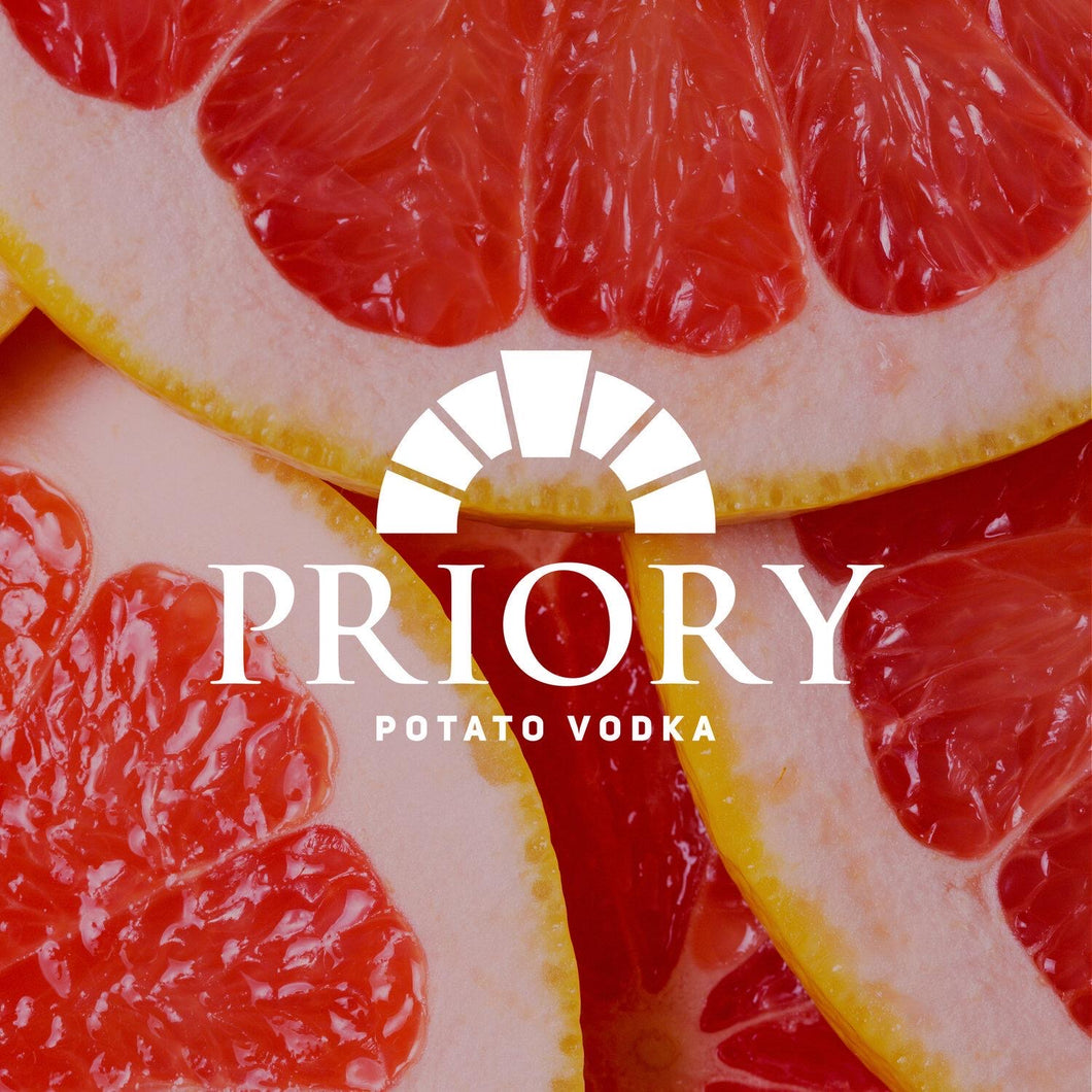 Priory Vodka | Grapefruit