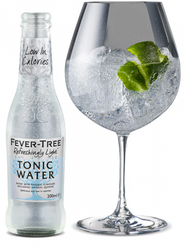 Fevertree light Indian tonic water
