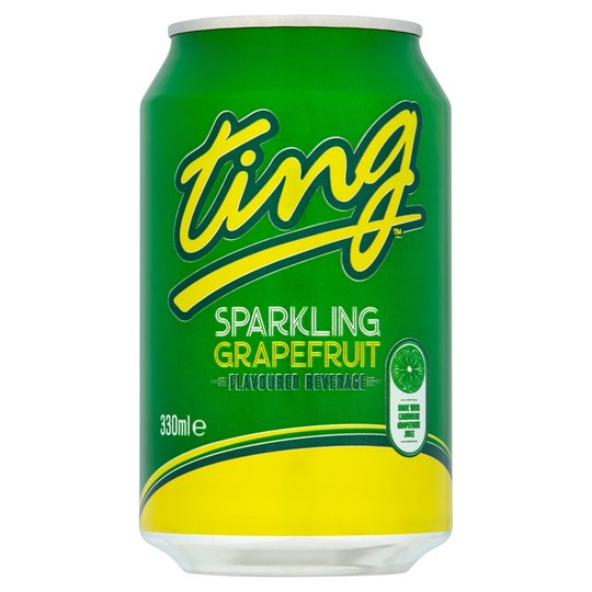 Ting sparkling grapefruit crush 330ml