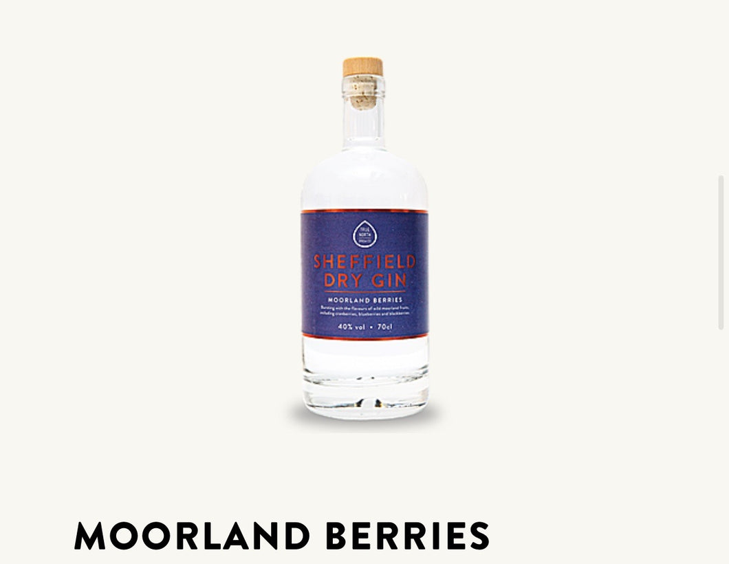 Sheffield Dry Gin | Moorland Berries 70cl