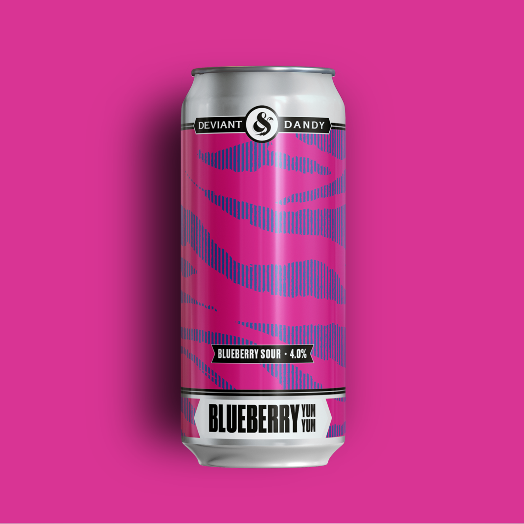 Blueberry Yum Yum | 4% | Blueberry Sour