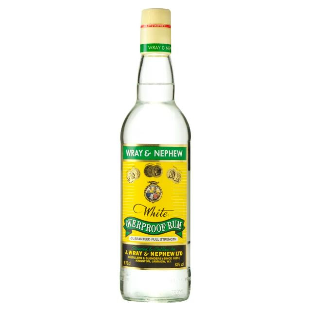 Wray & Nephew | 63% | 35ml measure + mixer