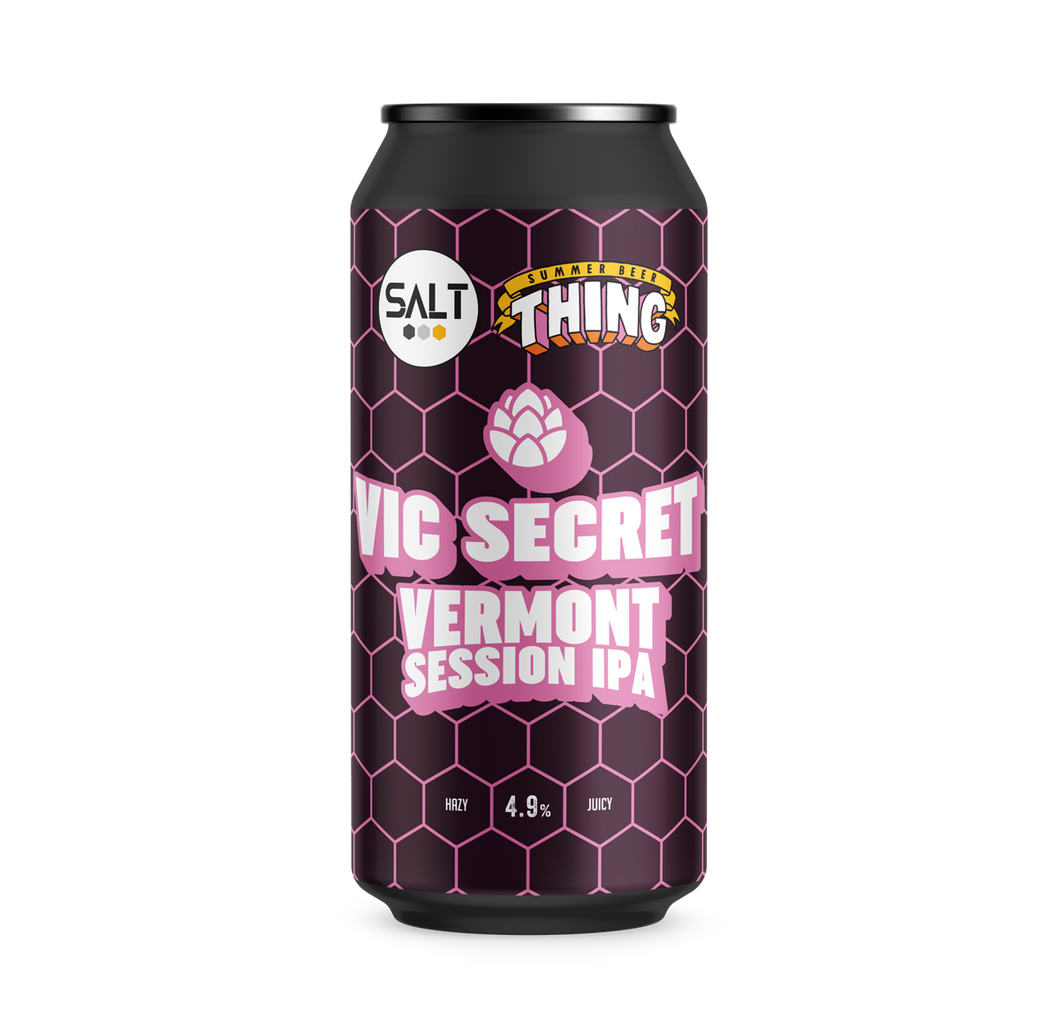 Vic Secret | 4.9% | Vermont session IPA