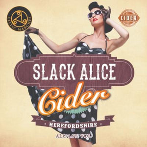 Slack Alice cider 4.6%ABV Jerry can - reusable