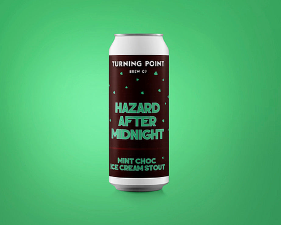 Hazard After Midnight | 5.7% | Mint Choc stout