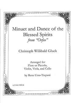GLUCK: Minuet and Dance of the Blessed Spirits from