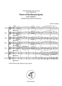 GLUCK: Minuet and Dance of the Blessed Spirits