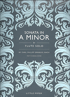 BACH CPE: Sonata in A minor