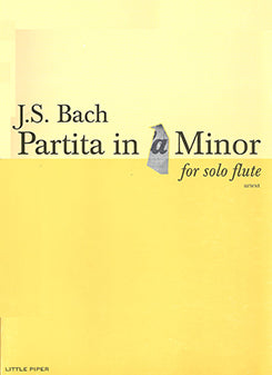 BACH JS: Partita in A minor