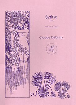 DEBUSSY: Syrinx for Solo Flute