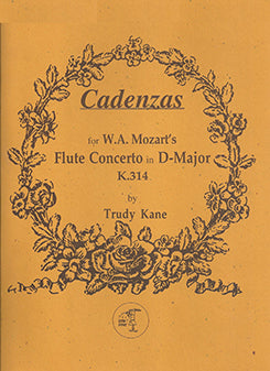 KANE: Cadenza Mozart No 2 D Major