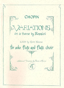 CHOPIN: Variations on a Theme by Rossini