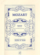 Load image into Gallery viewer, MOZART: March from Act III from The Marriage of Figaro