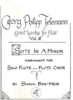 TELEMANN: Suite In A Minor