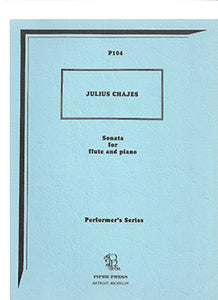 CHAJES: Sonata for Flute and Piano