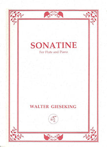 GIESEKING: Sonatine in E Minor
