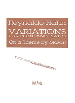 HAHN: Variations on a Theme by Mozart