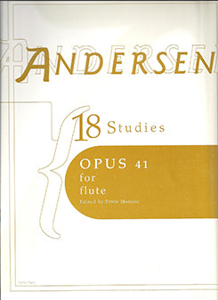 ANDERSEN: Eighteen Studies Opus 41