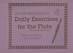 MAQUARRE: Daily Exercises for the Flute