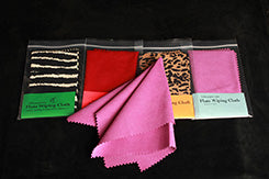 Flute Wiping Cloth - Animal Print