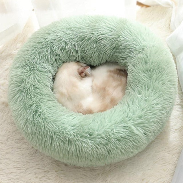 Soothing Pet Bed-Light Green