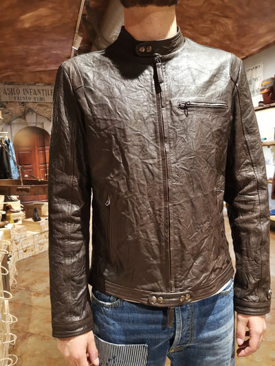 genuine leather jacket made in italy