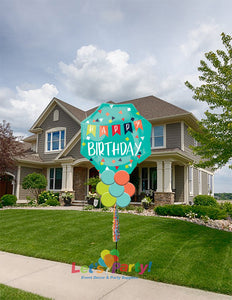 Reason to Celebrate - Yard Balloon Art