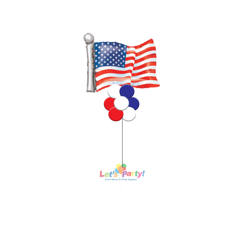 American Flag - Yard Balloon Art