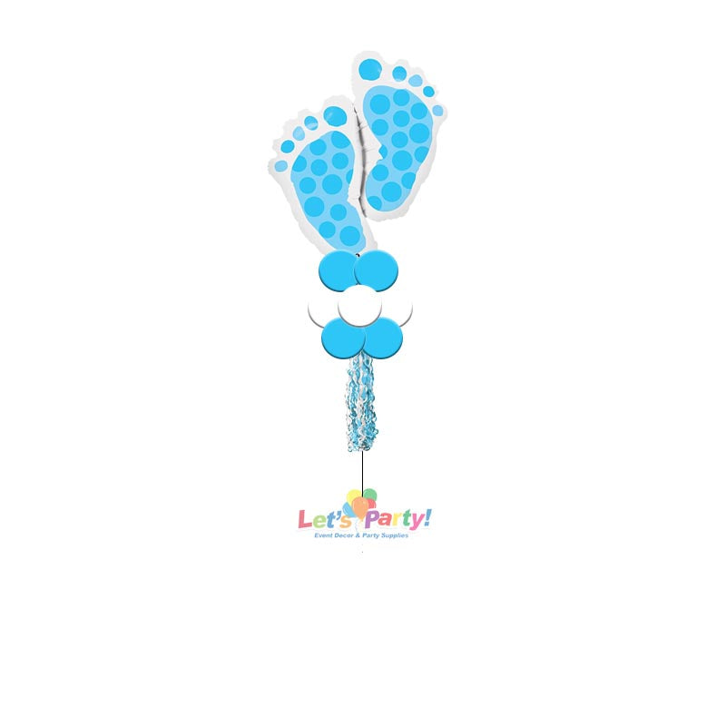 Baby Boy Feet - Yard Balloon Art
