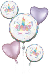 Unicorn Party Iridescent Bouquet