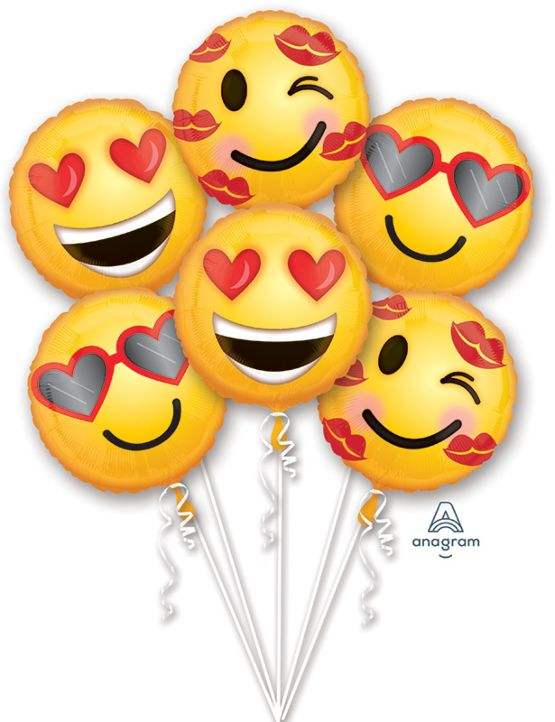 Emoticon Balloon Bouquet
