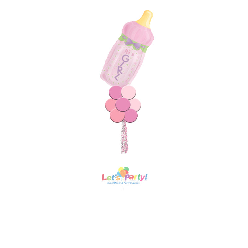 Baby Girl Bottle - Yard Balloon Art