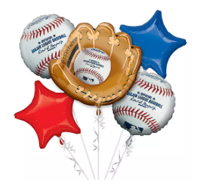 MLB Balloon Bouquet