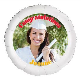 "22"" Personalized Picture Balloon"