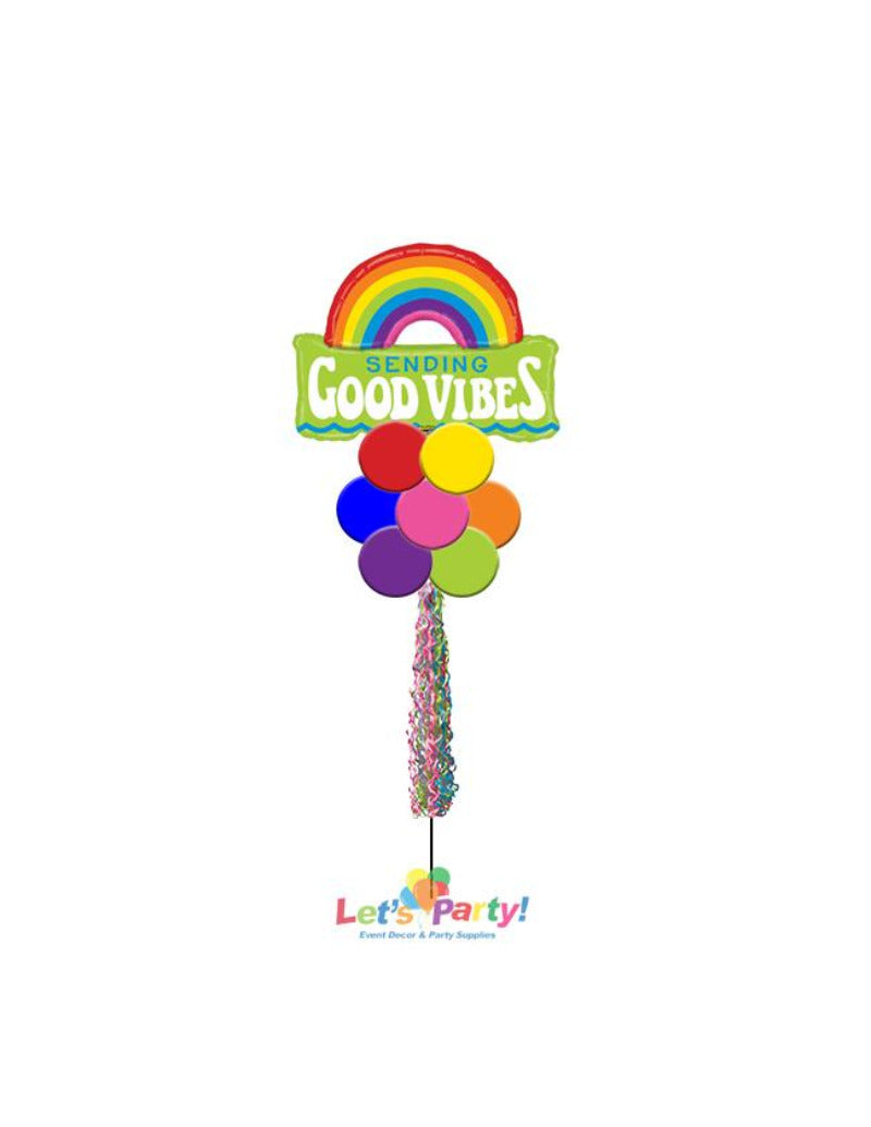Sending Good Vibes - Yard Balloon Art