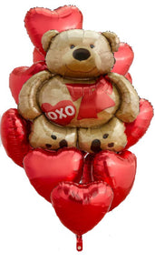 Teddy Bear Love Ex-Large Bouquet