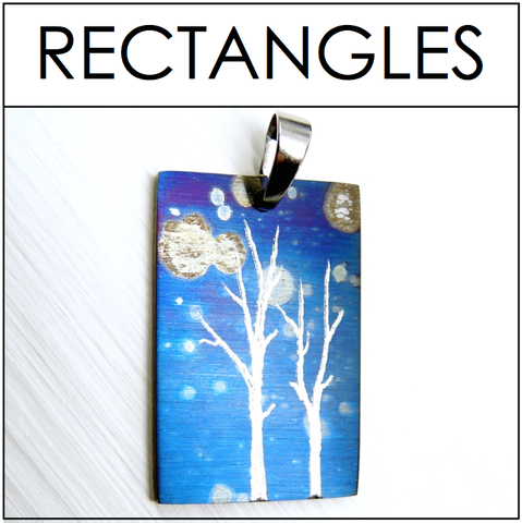 Shop RECTANGLE Necklaces