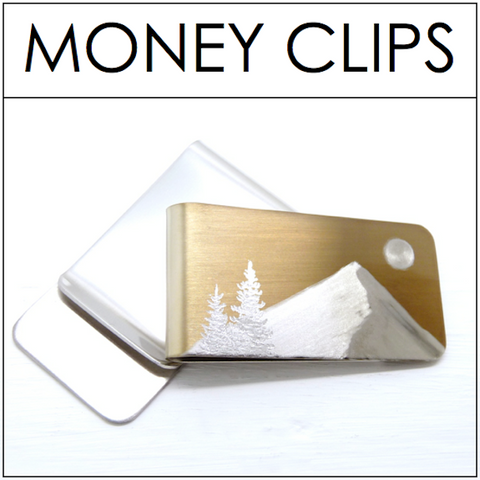 ENGRAVED Money Clips