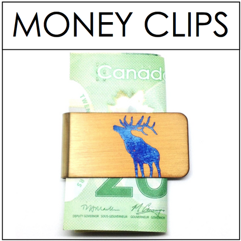 ANIMAL Money Clips