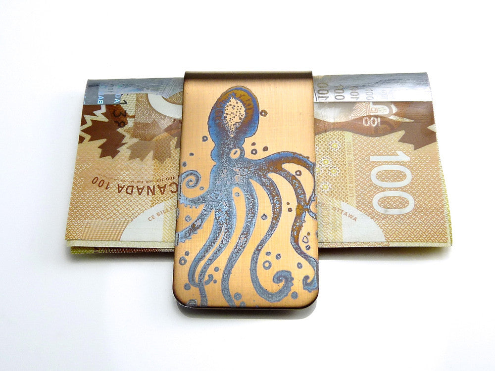 Octopus Money Clip - Gift of Cash
