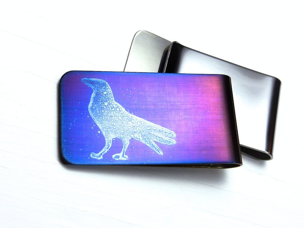 Raven Money Clip