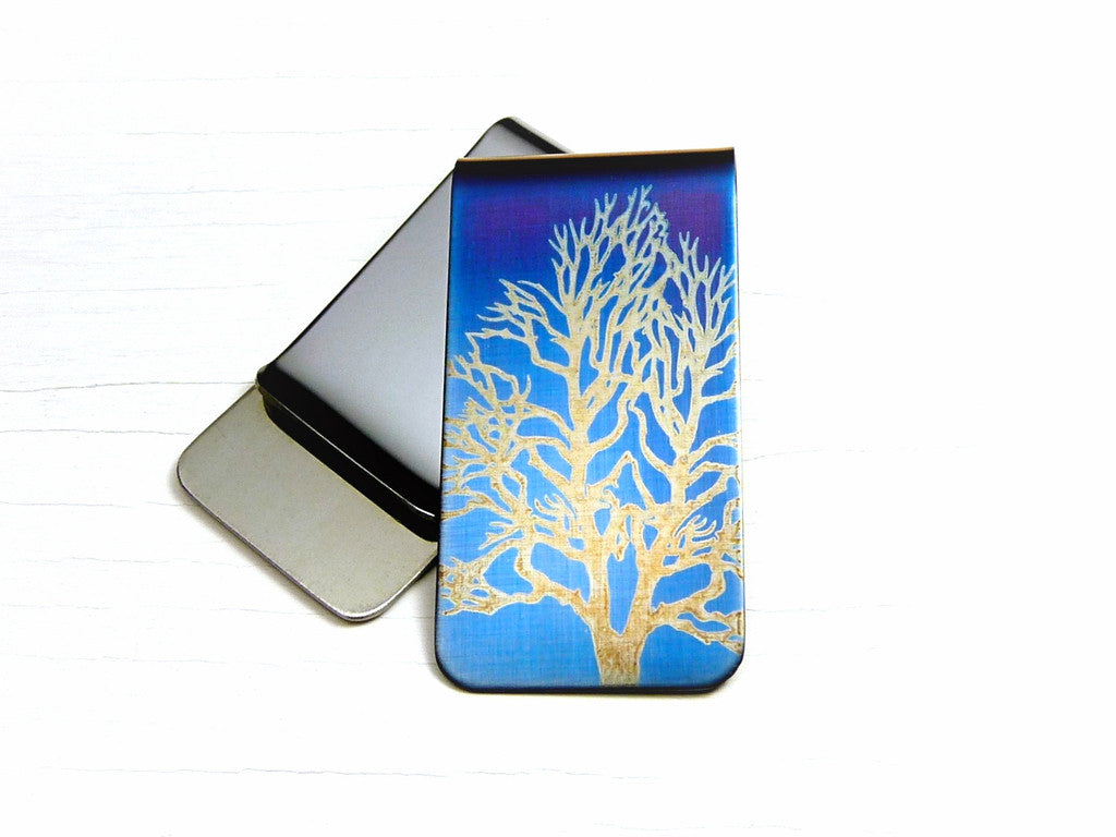 Tree Money Clip