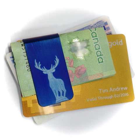 BLUE BUCK Money Clip